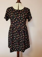 Motel Floral Shift Dress Size M