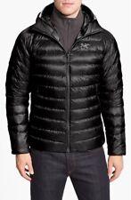 NEW Arc'Teryx 'Cerium LT' Hooded Trim Fit Down Jacket - Black - Large