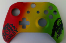 """Custom Xbox One S Controller """"Bob Marley"""" Front Shell (Matte)"""