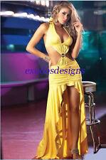 Unbranded Full Length V Neck Clubwear Dresses for Women