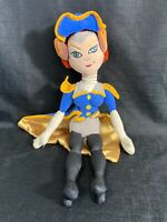 "Disney's Treasure Planet 16"" Captain Amelia Plush Stuff Doll"