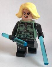 original LEGO MARVEL - BLACK WIDOW minifigure split FROM 76101 AVENGERS