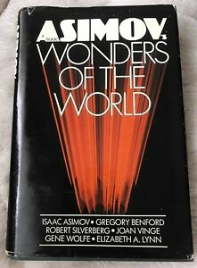 Isaac Asimov's Wonders of The World 1st Print Hardcover/DJ VG Collectible