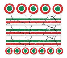 ITALIA MOD Distressed Air Decalcomanie ROAD MOUNTAIN BIKE BICICLETTA CICLO Adesivi