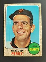Topps San Francisco Giants 1968 Gaylord Perry Trading Card #85