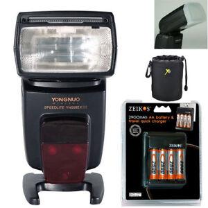 Yongnuo YN568EX III Master TTL HSS Wireless Flash Speedlite for Canon + battery