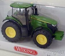 Wiking NEW HO 1/87 Scale John Deere 7260R Farm Tractor