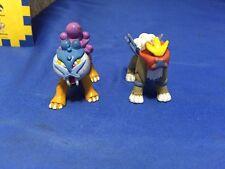 """TOMY CGTSJ 2"""" vintage figures Vintage Entei Raikou Pokemon"""