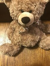 "Brown bear 12"" plush Teddy Bear Stuffed Animal toy by Fiesta"