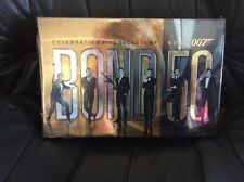 BRAND NEW James Bond 007 BLU RAY Box Set 50 Years Of Bond The ENTIRE Collection