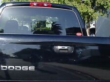 DODGE RAM 1500 2002 - 2008 TFP CHROME STAINLESS TAILGATE COVER - LEVER ONLY