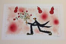 Michael Ferner Himmel voller Geigen Gicléedruck handsigniert Liebe Musik