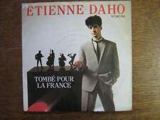 ETIENNE DAHO 45 TOURS GERMANY TOMBE POUR LA FRANCE