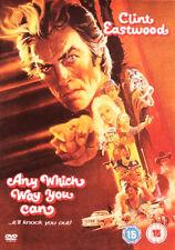 Any Which Way You Can DVD Region 2 Clint Eastwood Sondra Locke Geoffrey Lewis
