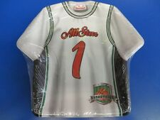 "Basketball Jersey Sports Banquet Birthday Party 9"" Shaped Paper Dinner Plates"