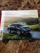 2013 Toyota Venza 24-page Original Sales Brochure