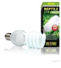 Exo Terra Reptile UVB 100 26W Compact Fluor Bulb pt-2187, Repti-Glo 5.0