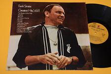 FRANK SINATRA LP GRETEST VOL 2 ITALY 1971 NM ! MAI SUONATO !