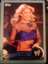 2011 Topps WWE Wrestling BLUE #71 Rosa Mendes #d 1625/2011