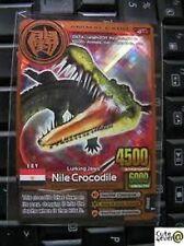 Bronze Animal Kaiser English Ver 2 Card A-012: Nile Crocodile