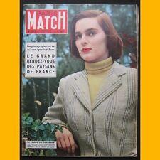 PARIS MATCH N° 311Lucia Bose toréador COCTEAU 1955