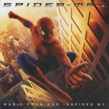SPIDERMAN SOUNDTRACK CD 19 TRACKS 2002 OST SPIDER-MAN MUSIC FROM AND INSPIRED BY
