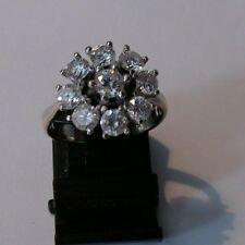 Diamantring Brillantring, Weißgold 585, ca. 1,20 Karat,  weiß, Größe 51, NEU 🎄