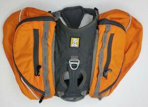 RUFFWEAR Dog Pack Hiking Backpack Harness Saddle Bags sz XS Clean