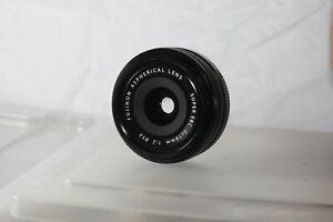 Fujifilm FUJINON XF 18mm f/2 Lens