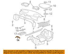 GM OEM Interior-Rear-Spare Tire Retnr Nut 25631294
