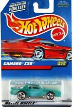 1998 Hot Wheels #822 Camaro Z28 (red car card)