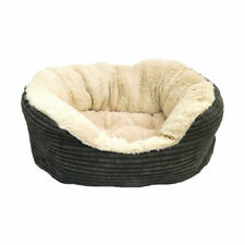 Rosewood 40 Winks Jumbo Grey Cord Fur Plush Bed - NQP