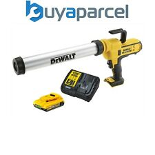 Dewalt DCE580 18v Lithium-Ion Caulking Gun 600ml - Includes 1 x 2.0ah Battery