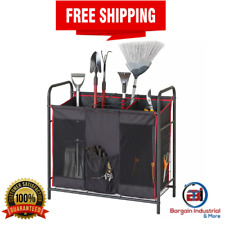 Gardening Cleaning Tools Storage Utility Supplies Sports Equipment Organizer New