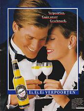EI, EI, EI VERPOORTEN - PUBLICITE PRESSE  PAPER ADVERT 1988 - COUPURE MAGAZINE