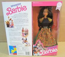 Spanish Barbie Doll of the World Collection Dressed For A Fiesta Special Edition