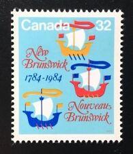 Canada #1014 MNH, New Brunswick Bicentennial Stamp 1984