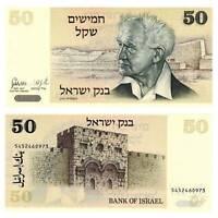 Pick 46a Israel 50 Sheqalim 1978 Unc. / 8418514vvv