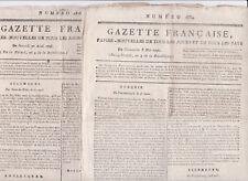 Révolution journaux affaire du Courrier de Lyon 1796