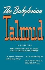 Babylonian Talmud by Leo Auerbach (1944, Paperback)