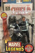 (2002) MARVEL LEGENDS SERIES FIVE NICK FURY FIGURE! MIP!