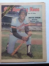 Sporting News Rod Carew Twins July 29, 1974 very sharp no mailing label