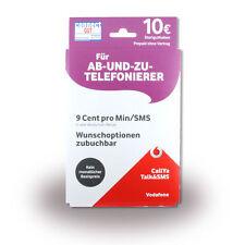 0162 607 9929 Vodafone CallYa Talk&sms Prepaid SIM Start .
