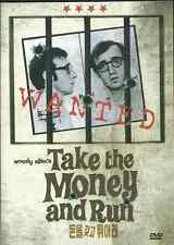 TAKE THE MONEY AND RUN   NEW  DVD