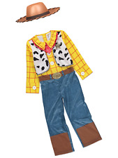 Boys Disney Toy Story Woody Fancy Dress Up Costume Age 7 - 8 Years