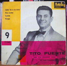 TITO PUENTE ADELE FRENCH EP DISQUES BARCLAY