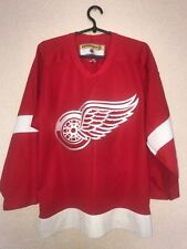 Vintage Detroit Red Wings Jersey CCM NHL Hockey Adult Size S 90s Retro