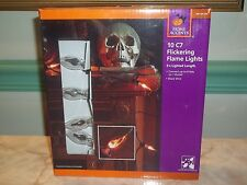 Home Accents 10 C7 Flickering Flame String Lights ~ NIB!