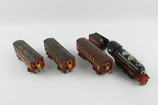 5 x Vintage LIONEL LINES Tinplate Loco, Tender & Carriages O Gauge