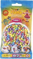 Hama 1000 Midi Bügelperlen 207-50 Mix Pastell Ø 5 mm Perlen Steckperlen Beads